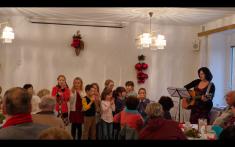 Adventní setkání seniorů a hudební pásmo našich žáků